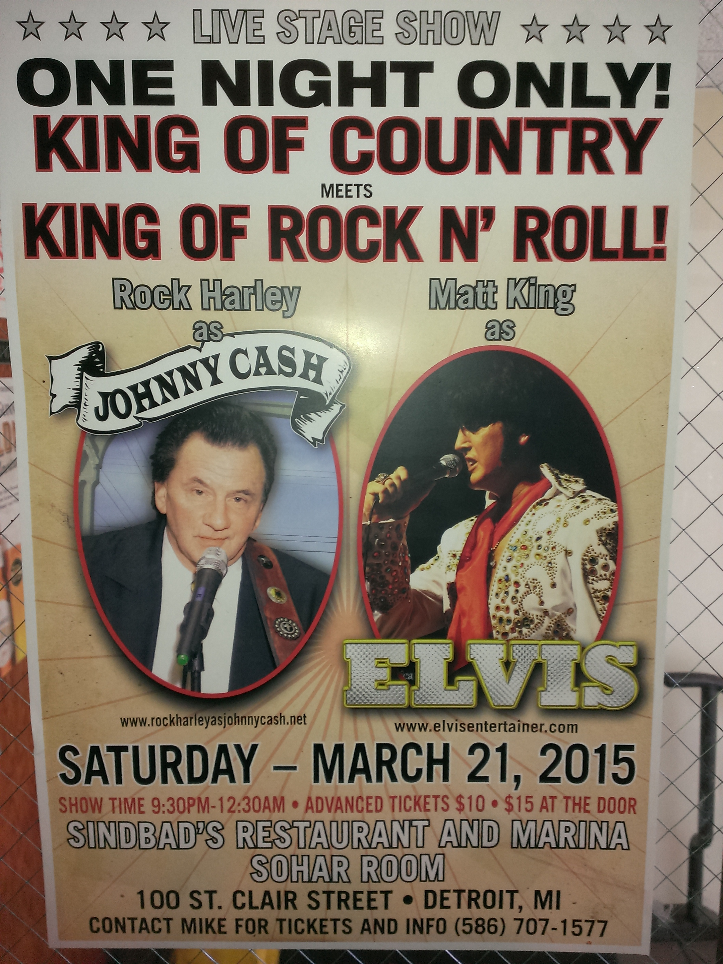 King of Country meets King of Rock & Roll !